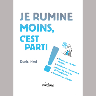Livre sur les ruminations Denis Inkei éditions Jouvence